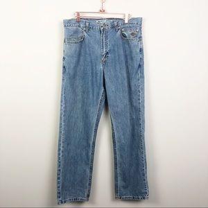 Harley Davidson | Light Wash Vintage Jeans 34x30